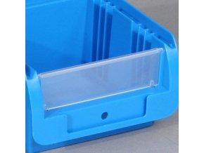 Čelní průhledná stěna pro boxy COMPACT 102x160/215x75 mm