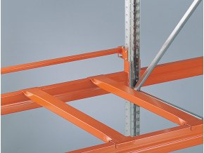 Příčníky pro paletové regály, hloubky 1100 mm, 2 ks