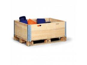 Paletový nástavec dřevěný, 1200x800x400 mm, balení 5 ks