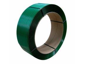 Vázací PET páska pro ruční páskovače ZAPAC 800 mic, 16 mm x 1200 m