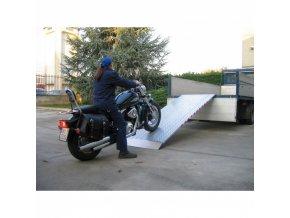 Nájezdové rampy BASIC, pár, délka 3500 x šířka 215 mm