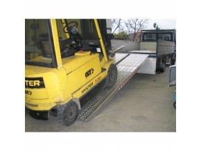 Nájezdové rampy HEAVY, pár, délka 4500 x šířka 720 mm