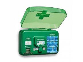 Zásobník detekovatelných náplastí a péče o rány