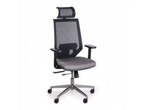 Kancelářská židle EDGE, šedá