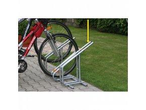 Kombinovatelný stojan na kola, vysoký