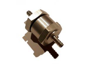 Zpětný ventil palivového systému s hrdly o průměru 4 mm