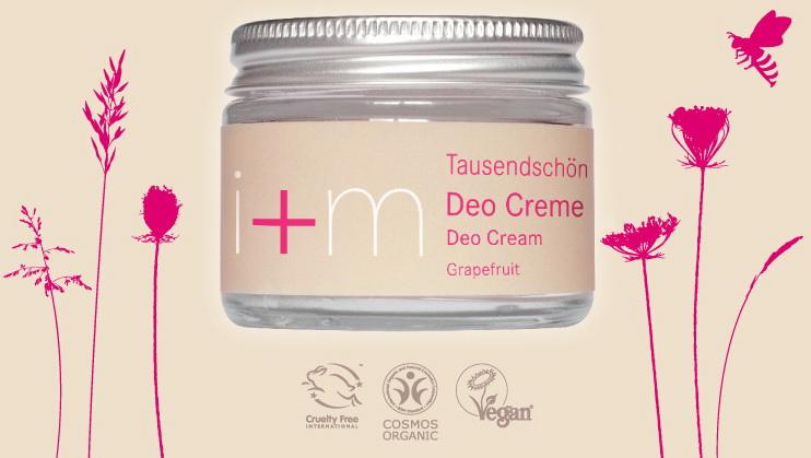 Dámský krémový deodorant Sedmikráska i+m Naturkosmetik