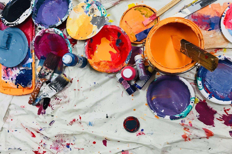 Vlasy jako malířské plátno
