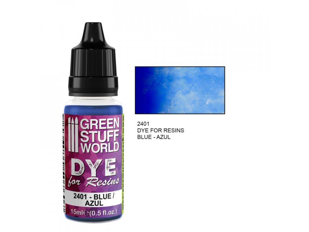 dye for resins blue