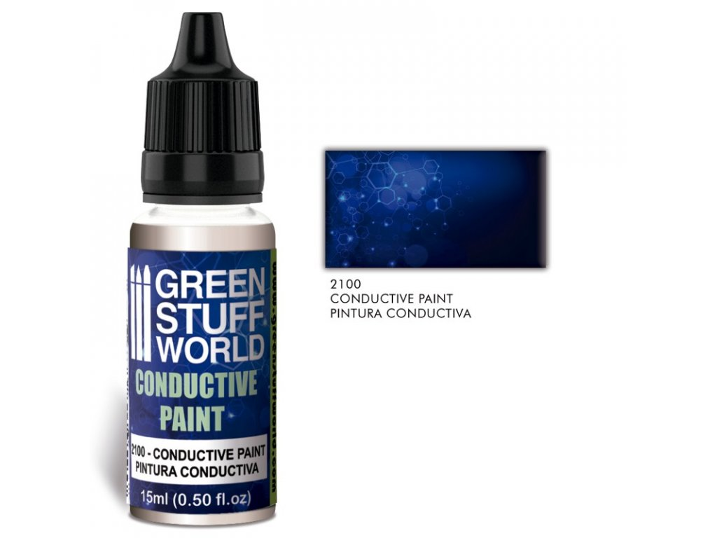 conductive paint with silver