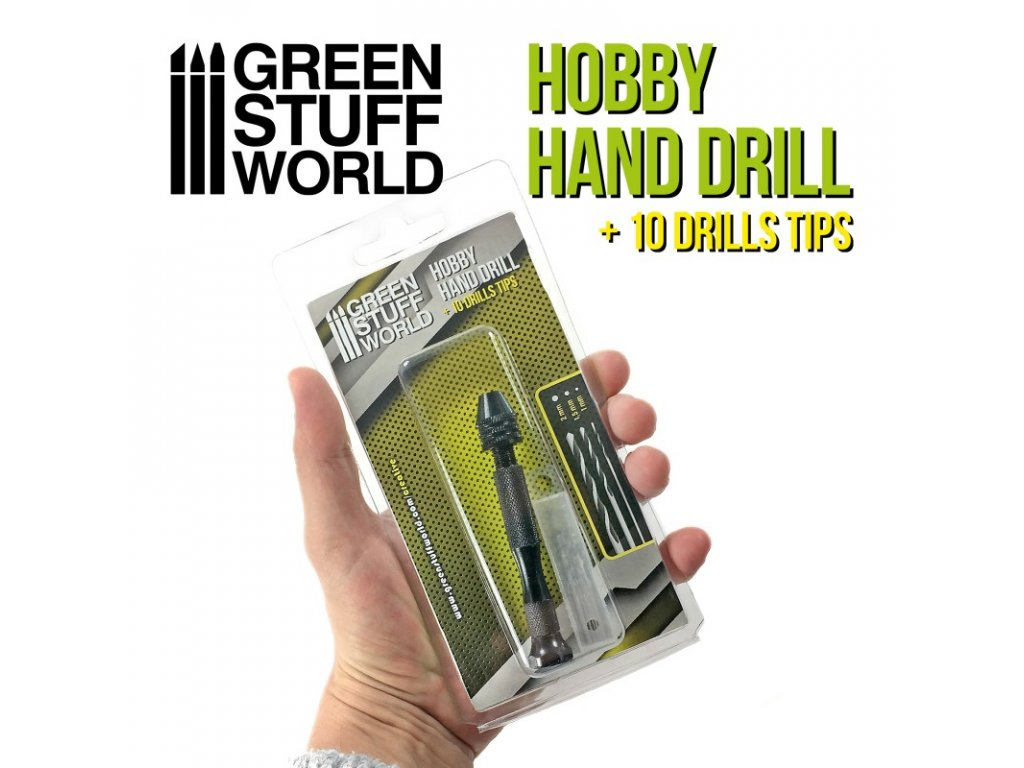 hobby hand drill black color
