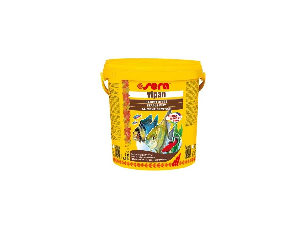 282 sera zakladni krmivo pro okrasne ryby vipan 10l