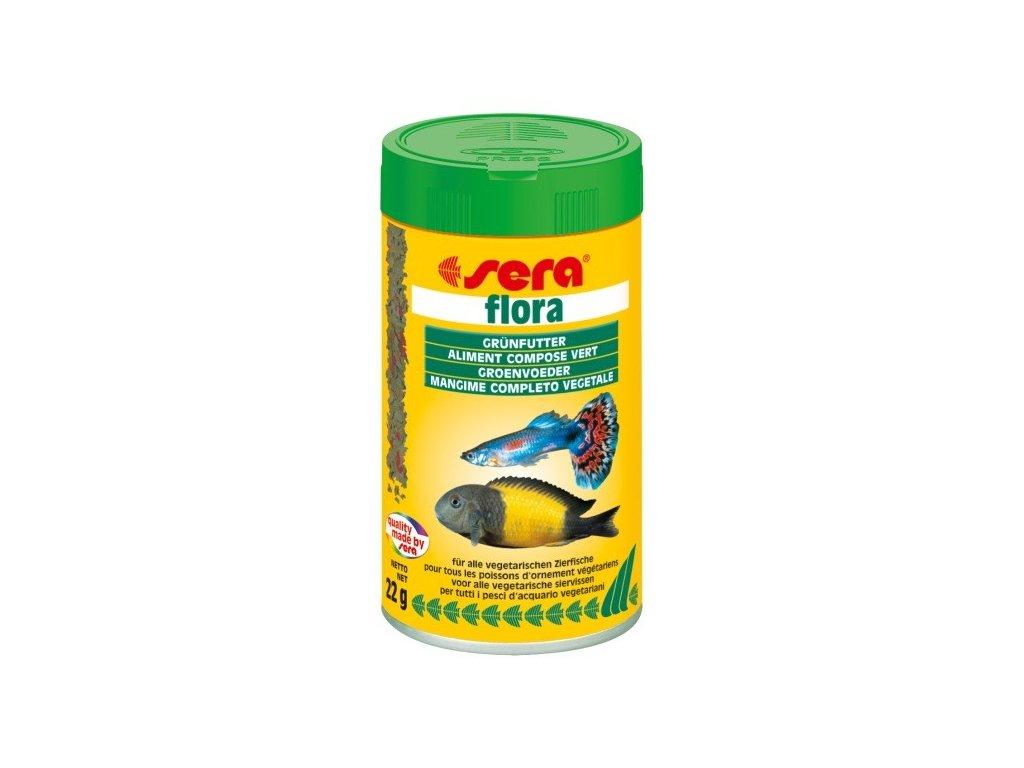 297 sera zakladni krmivo pro bylozrave ryby flora 100ml