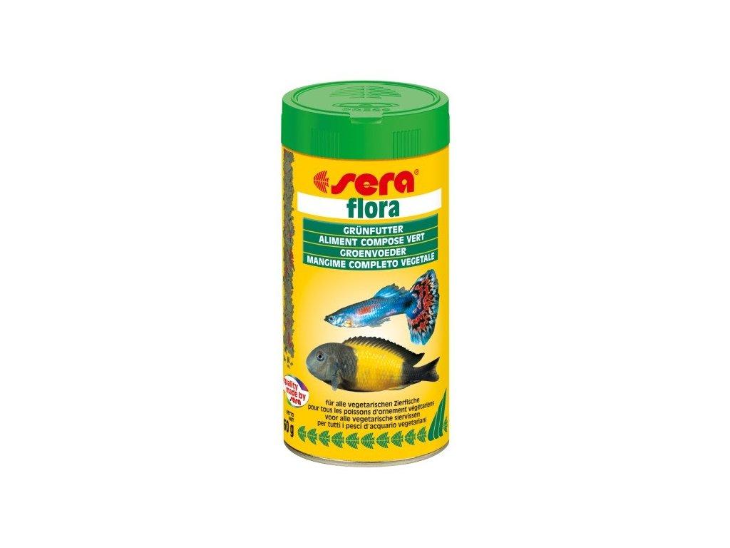 300 sera zakladni krmivo pro bylozrave ryby flora 250ml
