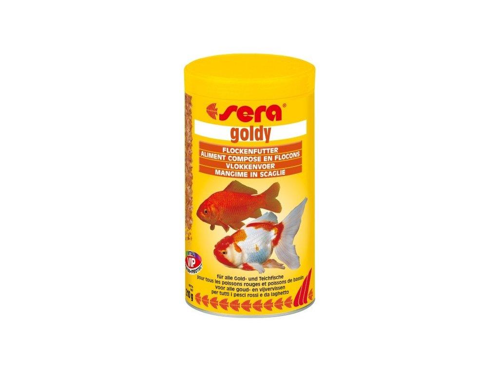366 sera zakladni krmivo pro studenovodni ryby goldy 1000ml