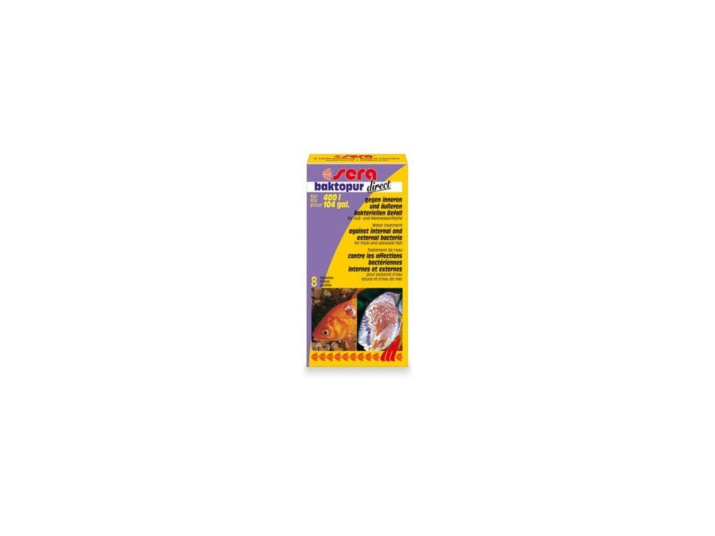 384 sera antibakterialni tablety do akvarii baktopur direct 8tbl