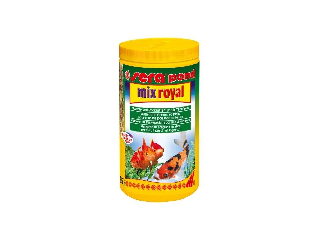 462 sera kompletni krmivo pro ryby v jezirku pond mix royal 1000ml