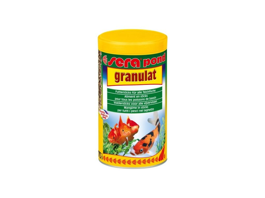 465 sera kompletni krmivo pro okrasne ryby v jezirku pond granulat 1000ml
