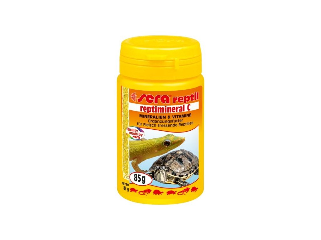 507 sera doplnkove krmivo pro masozrave plazy reptimineral c 100ml