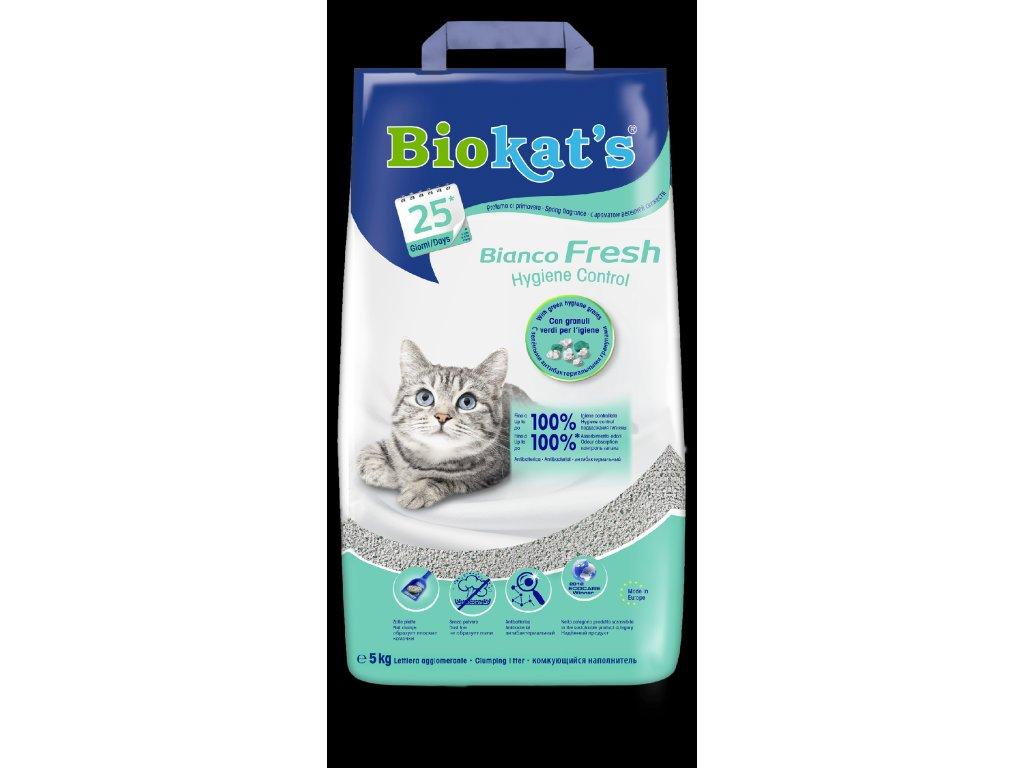 822 biokat s bianco fresh control podestylka 5kg