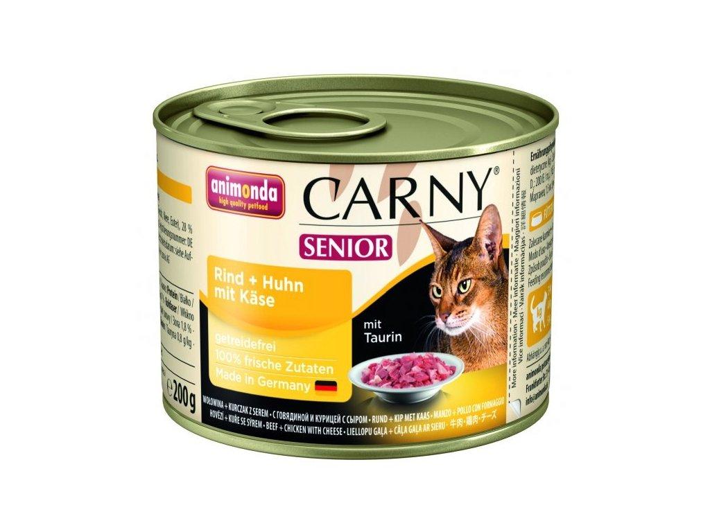 909 animonda carny senior konzerva pro kocky kureci syr 200g
