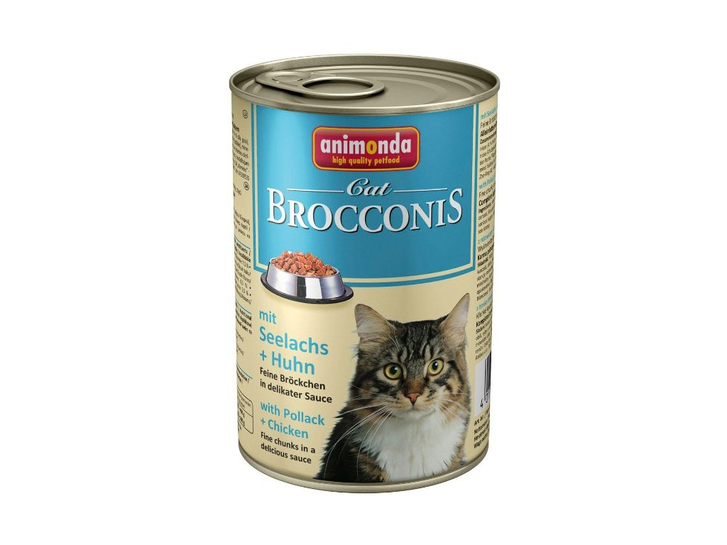 1062 animonda brocconis konzerva pro kocky losos kure 400g
