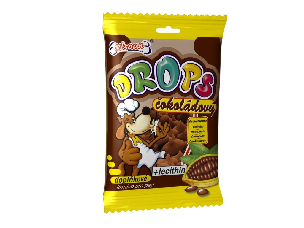 1641 mlsoun drops cokoladovy 75g