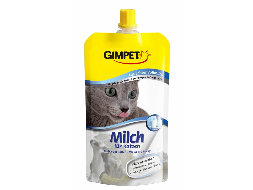 1869 gimpet cat milk mleko pro kocky 200ml