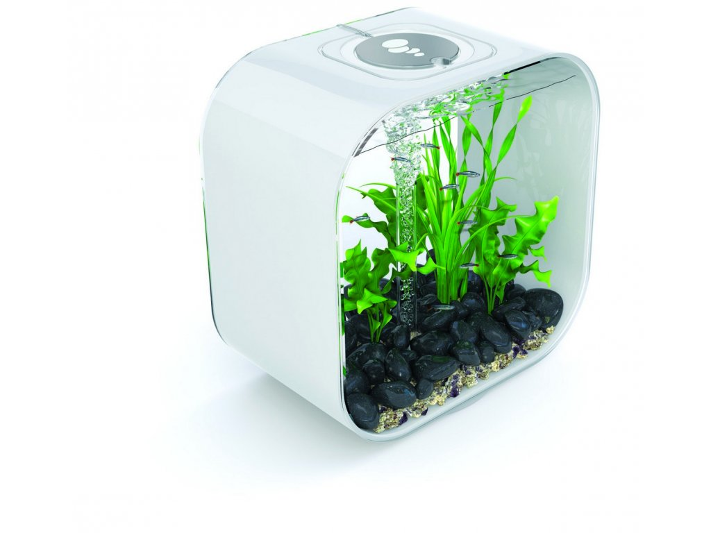 2049 biorb life square akvarijni set bily 30l