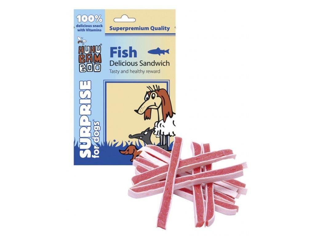 2160 huhubamboo rybi sendvic 75g