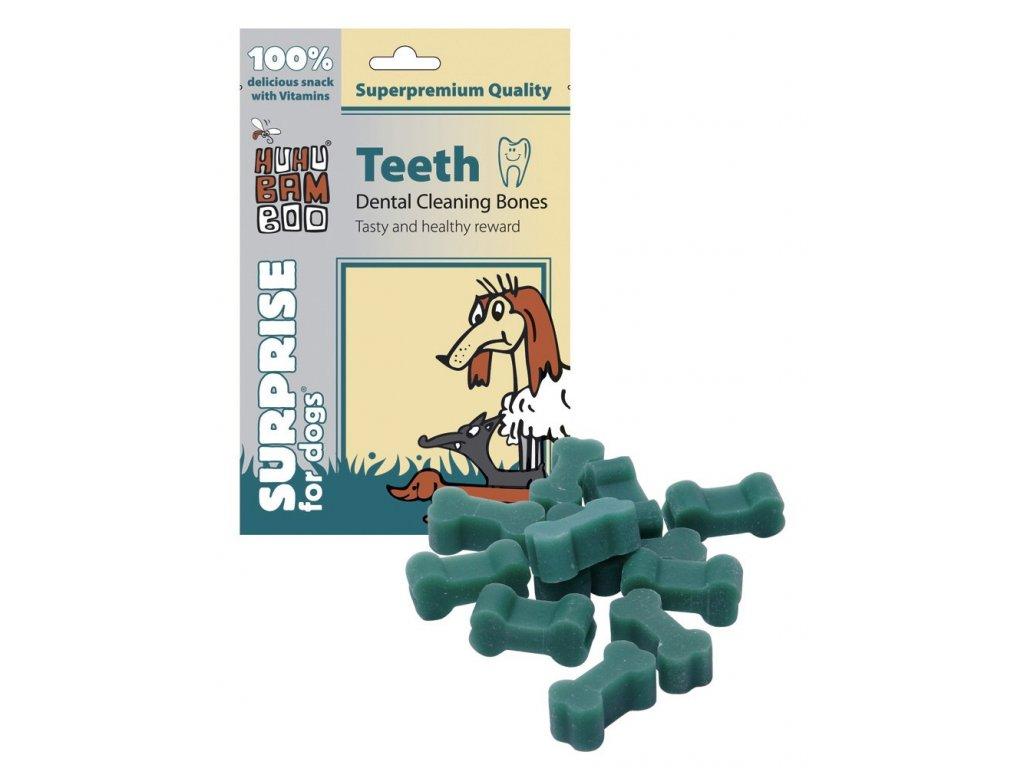 2175 huhubamboo teeth dentalni kosti na cisteni zubu 75g