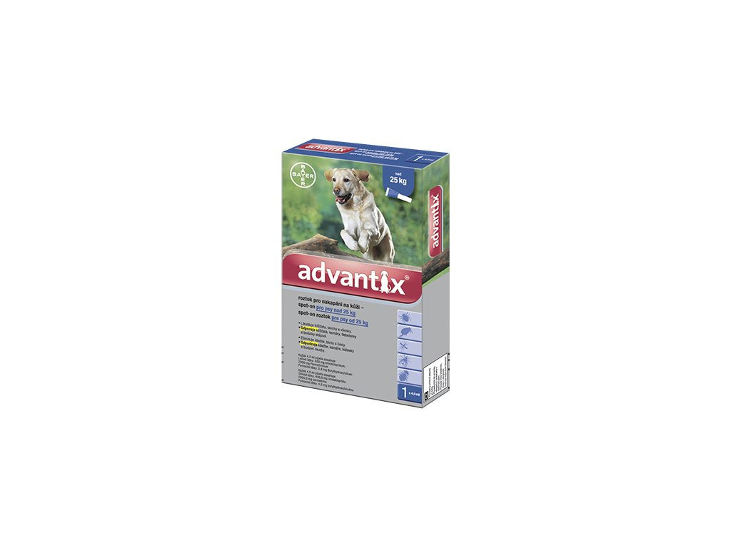 2199 advantix antiparazitikum pro psy nad 25 kg
