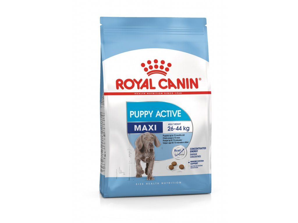 2247 royal canin maxi puppy active 15 kg