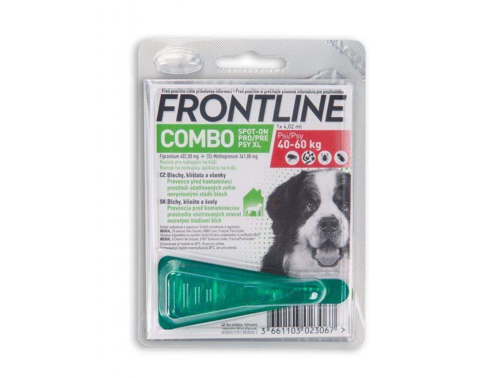 2616 frontline spot on combo pro psy xl 40 60 kg