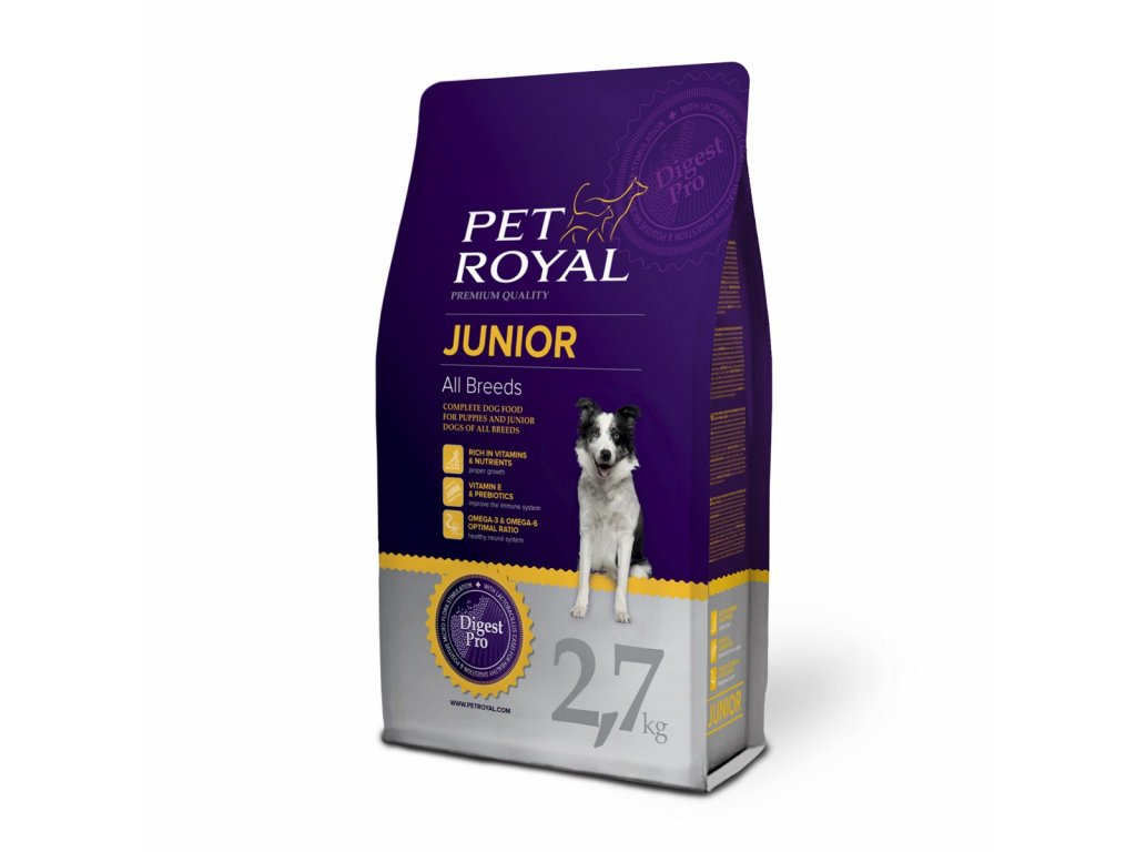 2886 pet royal junior dog all breeds 2 7kg