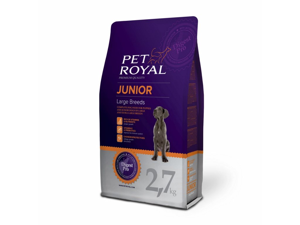 2895 pet royal junior dog large breeds 2 7kg