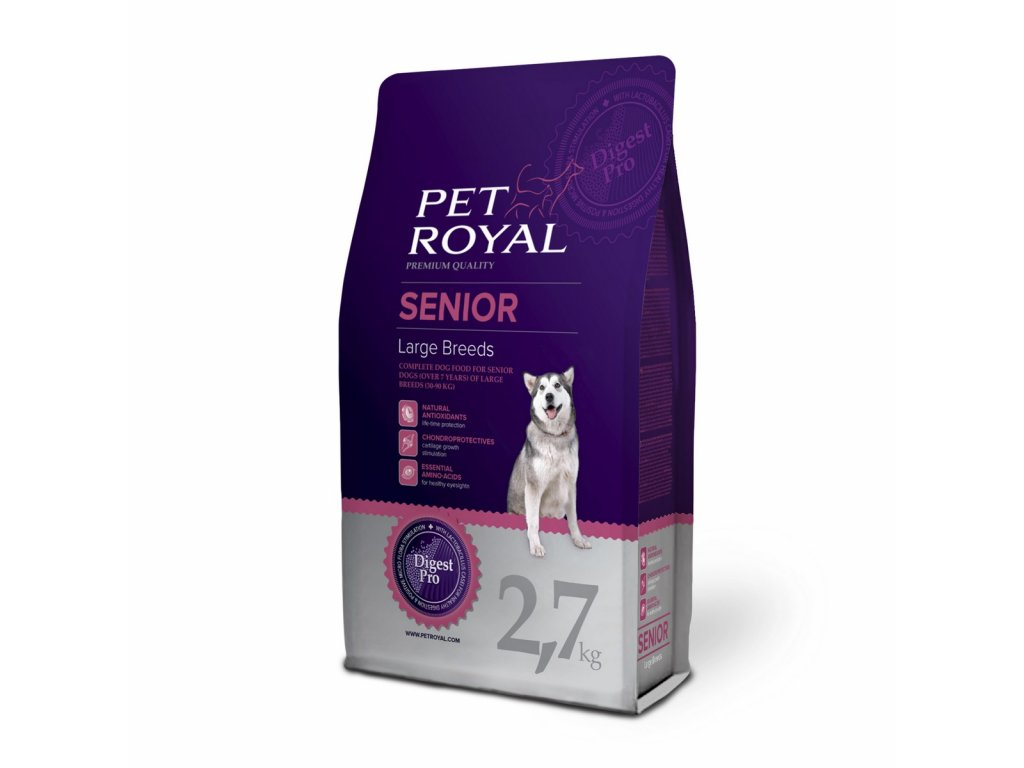 2934 pet royal senior dog large breeds 2 7kg