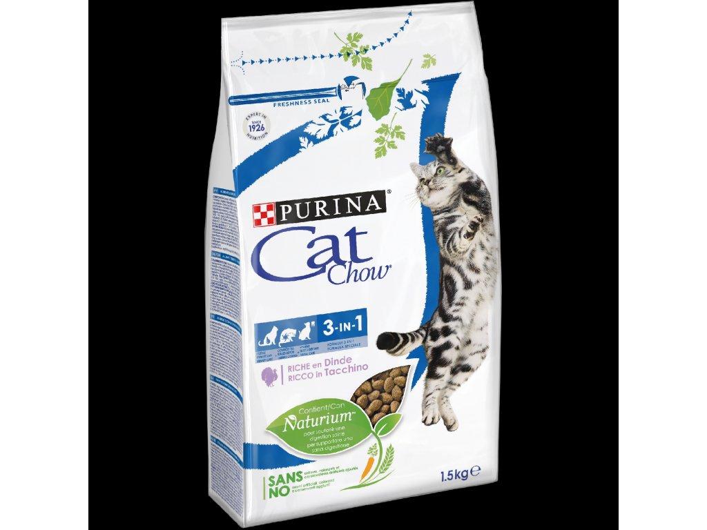 2973 purina cat chow 3in1 1 5kg