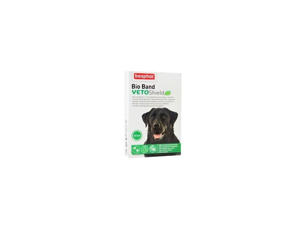 2991 beaphar bio band antiparaziticky obojek pro psy 65cm