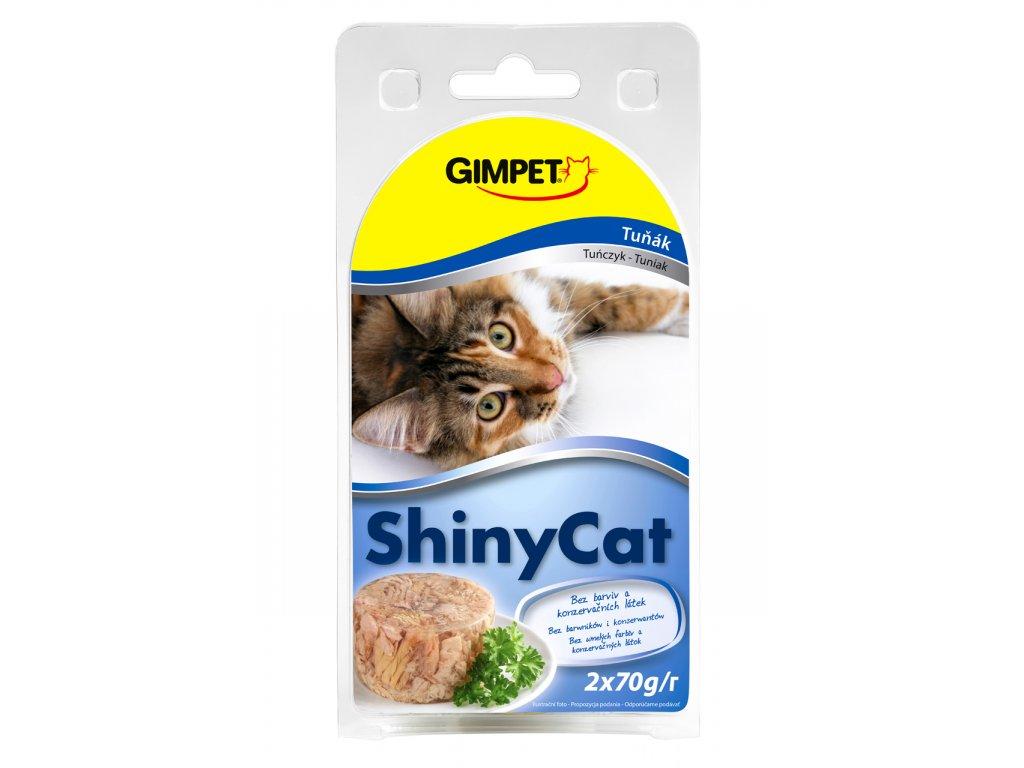ShinyCat konzerva tuniak 2x70g