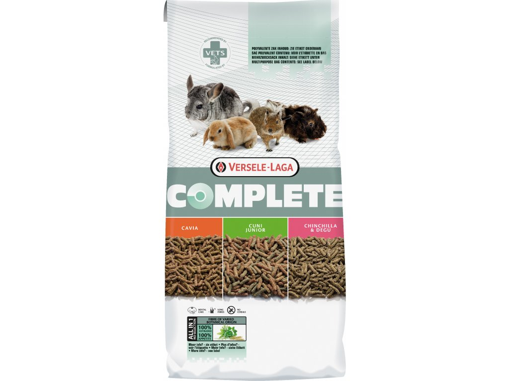 Versele-Laga Complete krmivo pre činčily 8kg