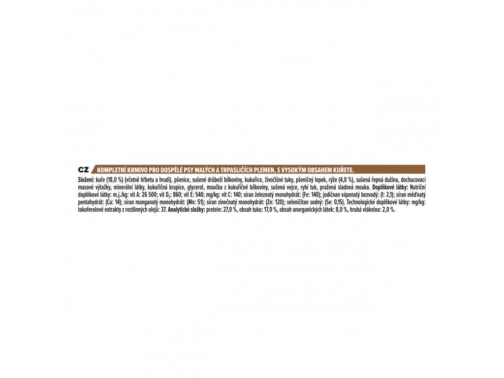 3726 purina pro plan duo delice adult small mini chicken 2 5kg