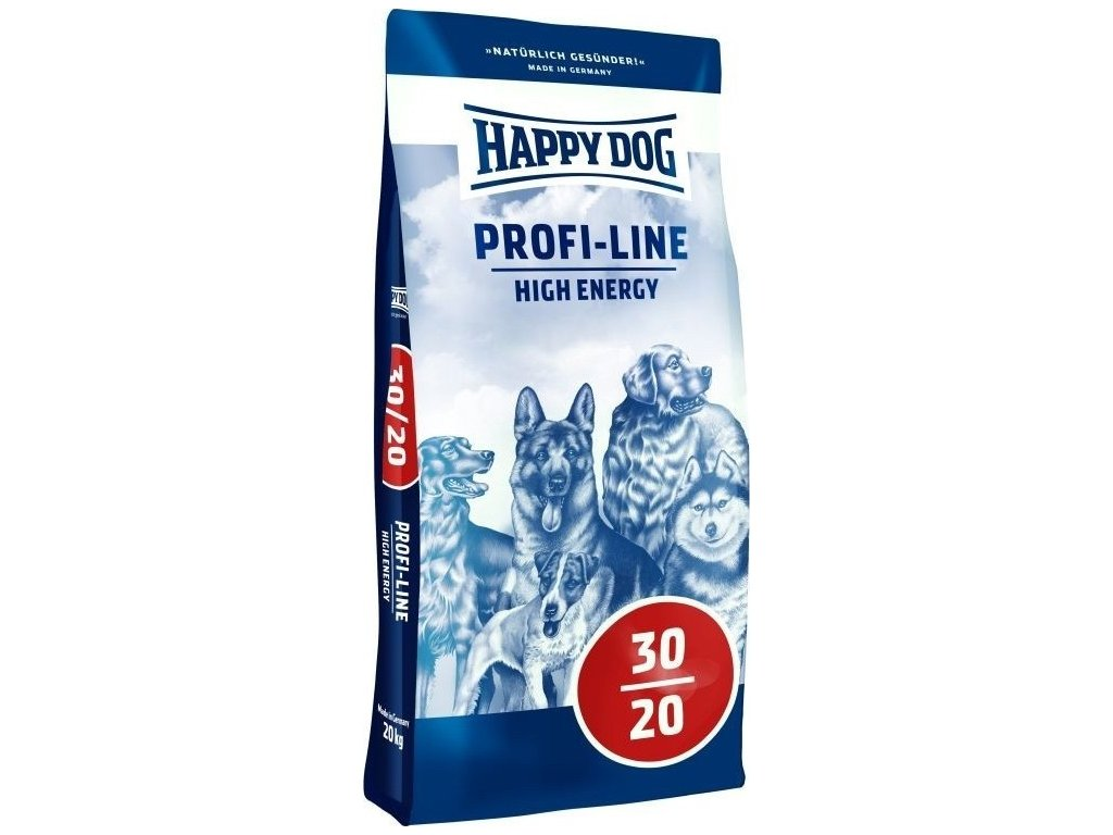 4071 happy dog profi krokette 30 20 high energy 20kg