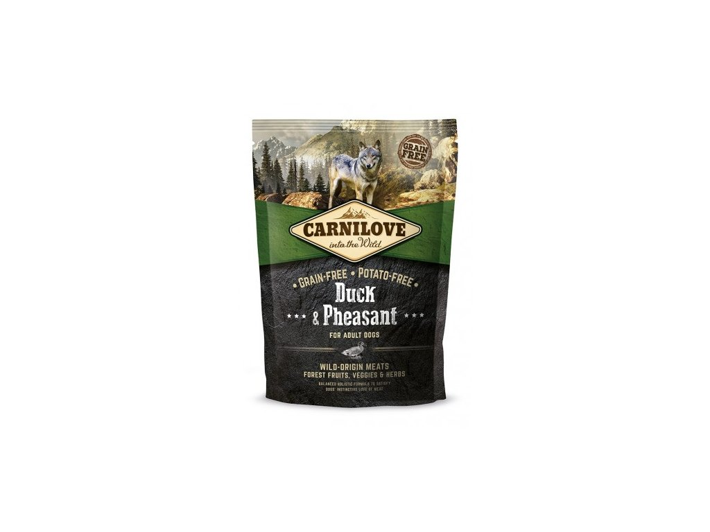 4152 carnilove duck pheasant for adult 1 5kg