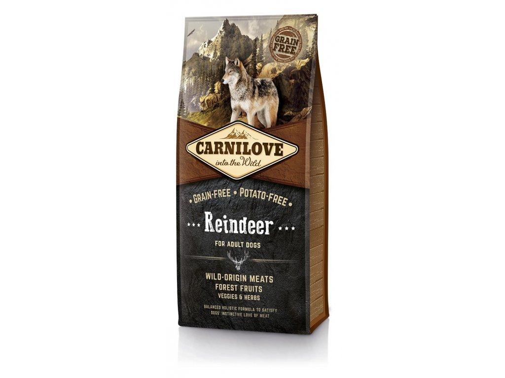 4155 carnilove reindeer for adult 12kg