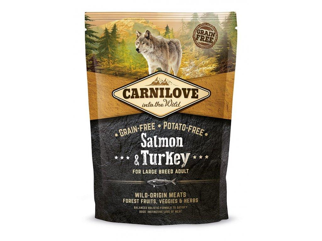 4176 carnilove salmon turkey lb 1 5kg