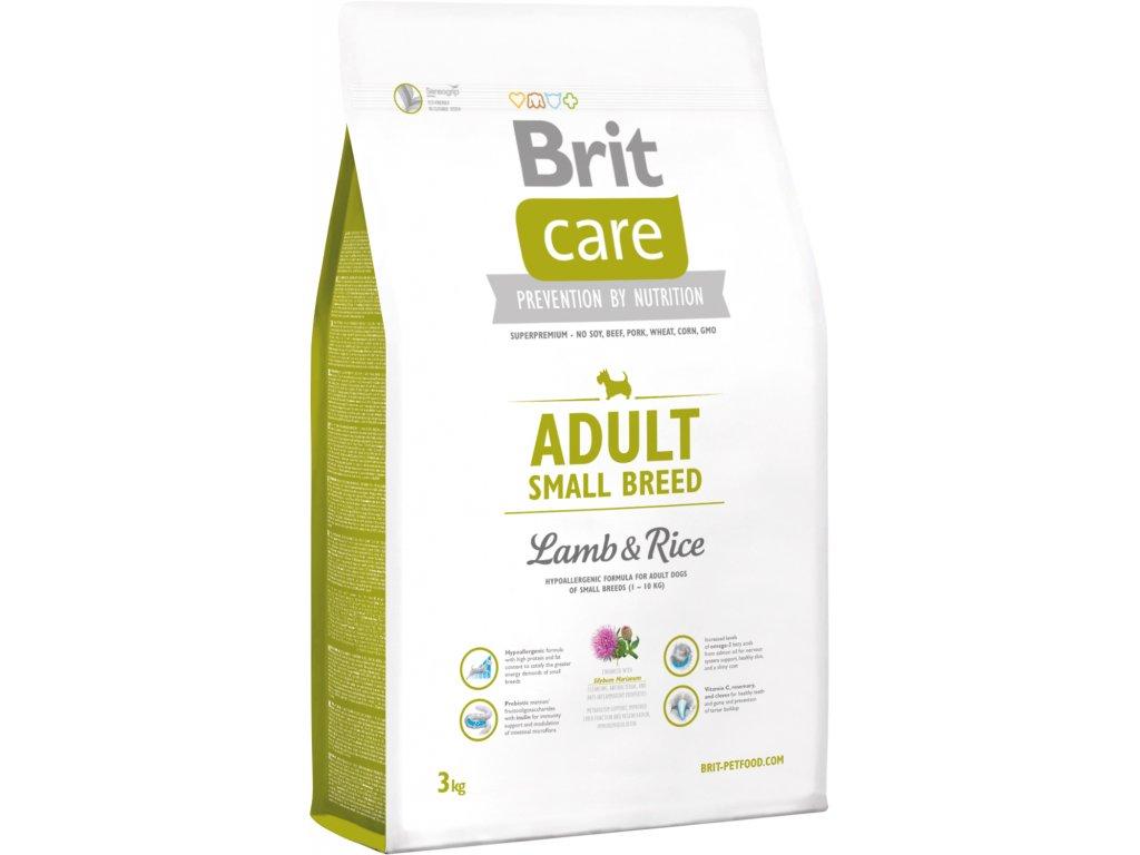 Brit Care Adult SB Lamb & Rice 3kg