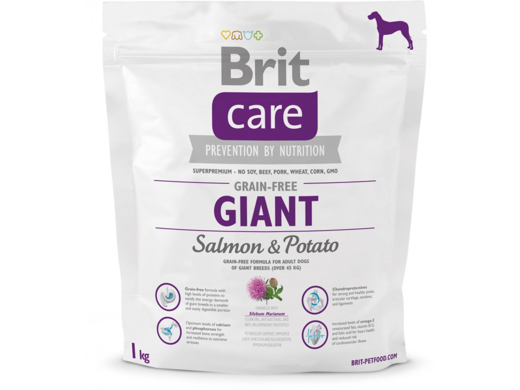 Brit Care Grain Free Giant Salmon & Potato 1kg