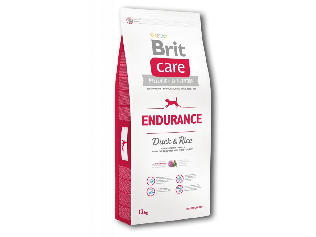 4296 brit care endurance duck rice 12kg