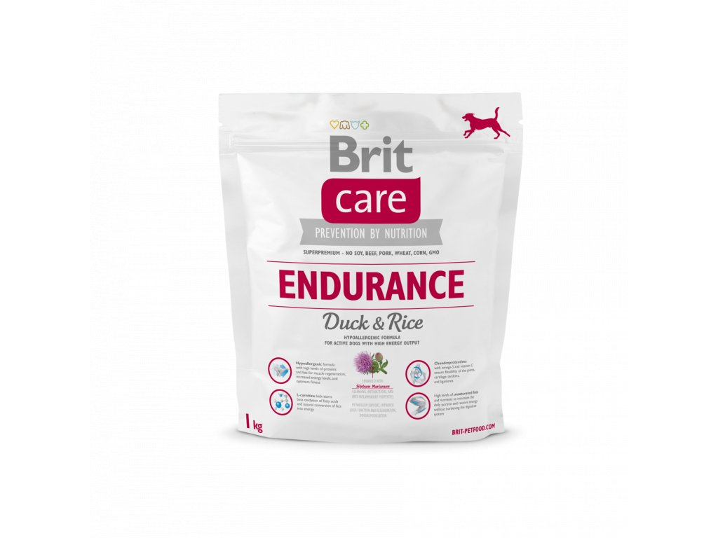 4302 brit care endurance duck rice 1kg